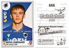 "RARE !! ROOKIE Sticker MIKKEL DAMSGAARD ""CALCIATORI 2020-2021"" Panini"