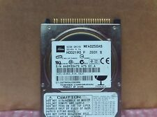"Toshiba IDE 2.5"" 40GB Laptop Hard Disk Drive HDD2190 MK4025GAS"