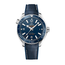 Omega Planet Ocean Co-Assiale cronometro MASTER 39.5 mm-mai indossato con box & Papers