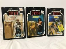Kenner Star Wars Return of the Jedi Rancor Keeper-Klaatu-Prune Face  Lot-3