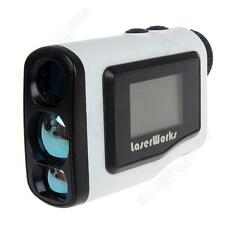 Handheld Golf Laser Range Finder 600m Distance Meter Scopes Telescope LCD WHT P1
