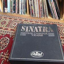 """Sinatra """"the capital years"""" Frank Sintra 20 lp vinyl collection rare"""