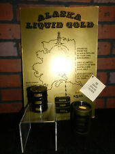 Alaska Pipeline Crude Oil Sample Barrel - Liquid Gold -1978 - Collector Piece