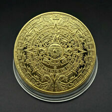 New Mayan Commemorative Coin Pyramid Day Gold Coin Gold Coin Gold