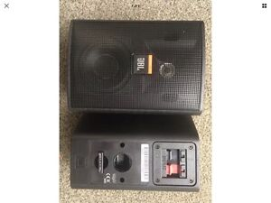 JBL Cont 23 Speakers And Wall Mounts