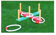 QUOITS THROWING RINGS GARDEN LAWN PARTY FETE BBQ GAMES - NEXT DAY DELIVERY