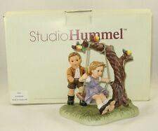 "2003 Goebel Berta Hummel Figurine ""Just A Swinging"" Bh 257 With Original Box"