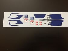 Decals 1/43 Peugeot 207 S2000 Sarrazin Rally Mounted Carlo 2009 Irc Rally No WRC