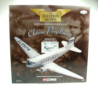Corgi Aviation AA30001 1/144 Douglas DC3 - Continental Airlines