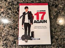 17 Again New Sealed VHS! 2009 Fantasy! Teen Wolf Neighbors Hairspray Sky High