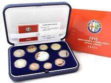 Italien 1 Cent bis 2 Euro 2010 KMS mit 5 Euro Alpha Romeo Polierte Platte