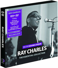 Ray Charles : The Essential Collection CD Album with DVD 3 discs (2014)