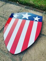 Captain America Shield 1940s 1:1 Scale The First Avenger *Hand Made to Order*