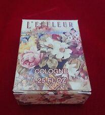 Vintage L'EFFLEUR by Coty Cologne .25 oz. Mini Perfume Dab Bottle NIB -Free Ship
