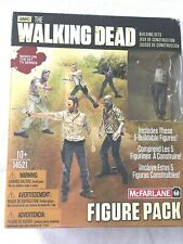 THE WALKING DEAD, 5 (mini) Figure Pack, McFarlane Toys, Rick Grimes,  new in box