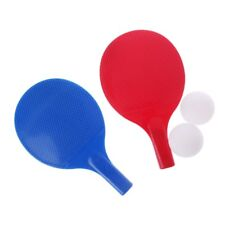 Hot Plastic Table Tennis Racket Kids Toys Fitness Entertainment Ping Pong Paddle