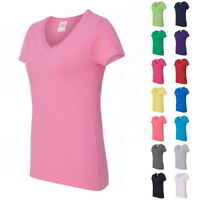 Gildan - Heavy Cotton Women's V-Neck T-Shirt - 5V00L