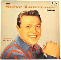 "STEVE LAWRENCE   ""The Steve Lawrence Sound""   1960 Vinyl LP    UA3098"