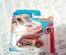 HOT WHEELS COCHE FIAT 500 MARRON NUEVO EN BLISTER.HOTWHEELS.