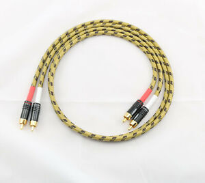 2 x 1,00m Sommercable Classique Cinchkabel Hicon Cinch HI-CM06 gelb/schwarz HIFI