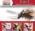 Clever Cutter 2-in-1 Knife & Cutting Board Scissors As Seen On TV