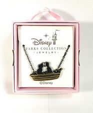 Disney Parks Kingdoms + Castles Jewelry Ariel & Prince Eric On Boat Necklace New