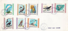 Montserrat 1970 Birds Set 2 Covers FDC GPO Plymouth CDS Unadressed VGC RARE!!