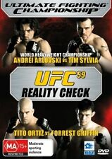 UFC #59 - Reality Check (DVD, 2006) *NEW & SEALED*