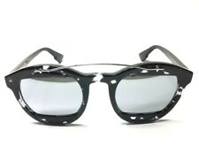 Christian Dior Mania 1 AB8 DC Grey Havana Black Silver Women Sunglass  Authentic a371d42c48cd