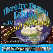 Theatre Organ Echoes - Around the World - Organ CD (New & Sealed)