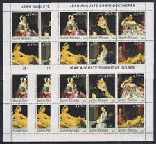 R813. 5x Guinea-Bissau - MNH - Art - Paintings - Ingres - 2003