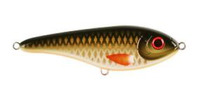 Strike Pro Buster Jerk Shallow, 15cm,  66gr - Golden Olive
