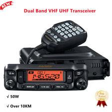 YAESU FTM-6000R Dual Band Mobile Radio 50W Car VHF UHF Transceiver Over 10KM