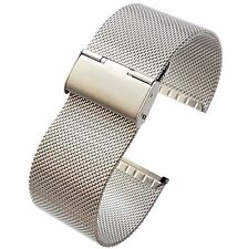26mm Stainless Steel  Mesh Milanese Watch Band Bracelet