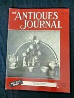 Antiques Journal 1950 Rose Gold Medallion Chinese Porcelain Tureen Georgia Glass