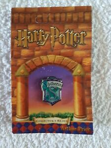 Harry Potter Slythrin Pin Badge Arthur Price Now Rare And Retired