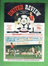 #T65.  FOOTBALL SOCCER  PROGRAM - 1984 UNITED REVIEW