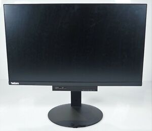 "Lenovo ThinkCentre TIO24D 23.8"" 1920 x 1080 DP USB Monitor w/Stand No Desktop"