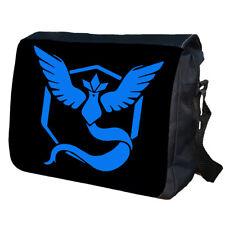 TEAM MYSTIC POKEMON GO School College Personalised Messenger Bag