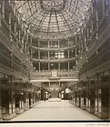 ZOLTAN HERCZEGH 20th c. American SIGNED PHOTOGRAPH 1932 Old Arcade Cleveland OH