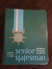 WW stamp collection in Harris Senior Statesman album. 1000's of stamps