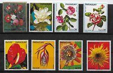 E8017 Paraguay Flowers Nature Plants MNH