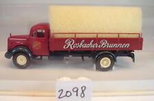 Brekina 1/87 MERCEDES BENZ l311 CAMION rosbacher Fontana OVP #2098