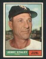 1961 Topps #90 Jerry Staley VG/VGEX White Sox 47862