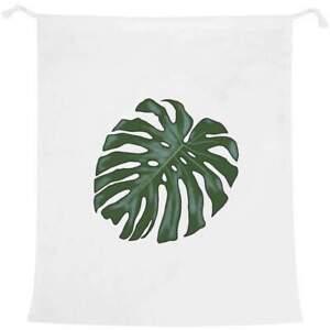 'Tropical Leaf' Laundry / Washing / Storage Bag (LB00012693)