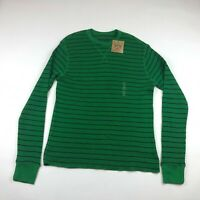 Red Camel Mens Green Long Sleeve Thermal Shirt Size Large NEW