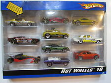 HOT WHEELS 10 CAR PACK PLYMOUTH DOOR SLAMMER GREASED PHARODOX MUSCLE TONE CAMARO
