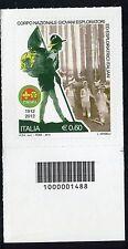 ITALIA 2012 GIOVANI ESPLORATORI/ORGANIZATION/BOY SCOUTS/UNIFORM-  CODICE A BARRE