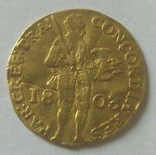 1 Ducat 1803 - Utrecht - Netherlands - Gold - Traiectum - 3,35 gr and  .983 Gold