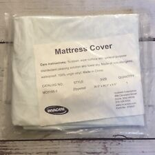 Invacare Non-Allergenic Mattress Cover Zippered Waterproof 36.5x80.5 New